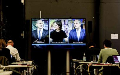 Debata kandydatów na kanclerza przed wyborami w Niemczech