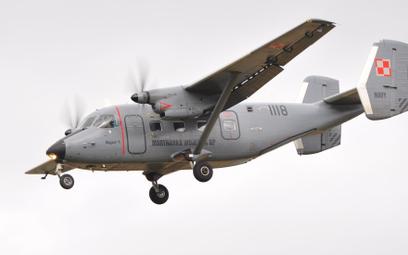 Samolot transportowy M28TD Bryza-1 Brygady Lotnictwa Marynarki Wojennej. Fot./Mirosław Wasielewski.