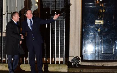 Donald Tusk i David Cameron. Pracowity wieczór w Londynie