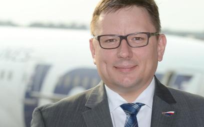 Rafał Milczarski, prezes LOT-u.