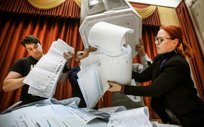 Wybory w Rosji: Krytyka, ale bez sankcji