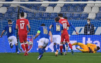 Liga Narodów: Lekcja piłki nożnej. Polska przegrała z Włochami 0:2