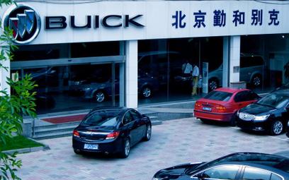 96 procentowy spadek sprzedaży samochodów w Chinach