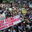 Muzułmanie z Pakistanu domagają się zaprzestania przemocy w Birmie w stanie Arakan