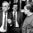 Tadeusz Mazowiecki i Aleksander Hall (z prawej) upominali się o opozycję niepodległościową, zmargina
