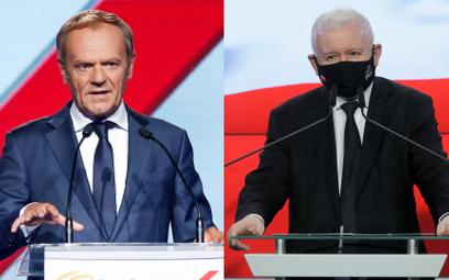 Tusk kontra Kaczyński: Wyścig się rozpoczął
