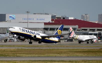 Mniej Ryanaira na zimę