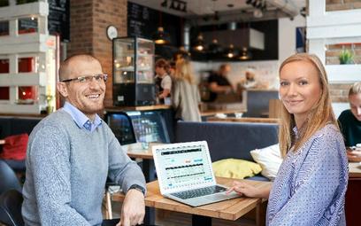 Karolina Dolaś i Grzegorz Galos stworzyli system do planowania i rozliczania czasu pracy. Z ich opro