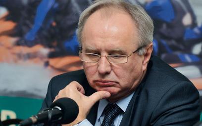 Jerzy Markowski: Byłem ostatnim ministrem, który niemiał żadnych pieniędzy narestrukturyzację, am