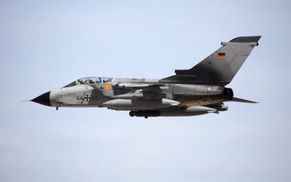 Samolot uderzeniowy Panavia Tornado IDS Luftwaffe w locie. Fot./Bundeswehr.