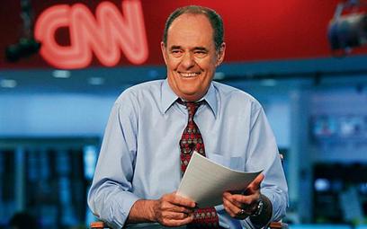 CNN była pierwszą stacją informacyjną na świecie. Na zdjęciu dziennikarz CNN Jack Cafferty