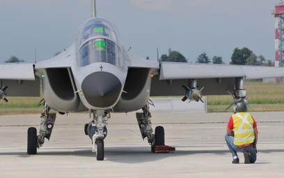 Bojowy M-346 Fighter Attack jest w polskim zasięgu
