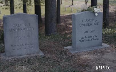 To już pewne: Frank Underwood nie żyje