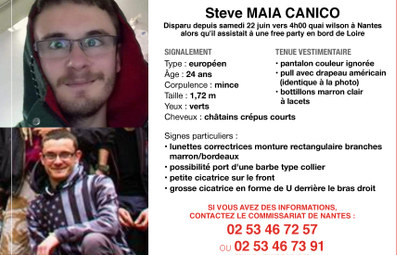 24-latek zaginął po interwencji francuskiej policji