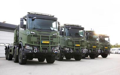 Wojsko zakupiło za wysokie ciężarówki