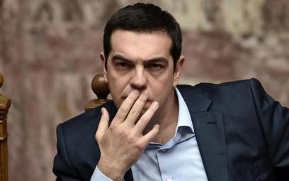 Aleksis Cipras, premier Grecji i szef lewicowego ugrupowania Syriza