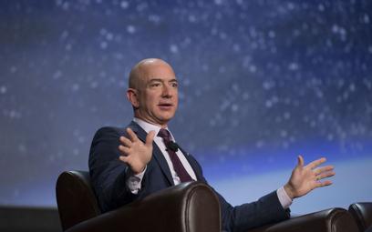 Jeff Bezos, właściciel Amazonu