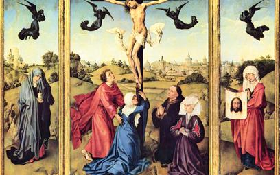 """Rogier van der Weyden, """"Tryptyk Ukrzyżowania"""", ok. 1445 r."""