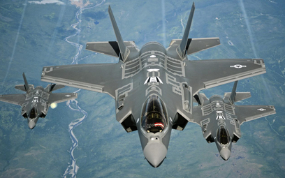 Samoloty Lockheed Martin F-35A Lighting II USAF. Fot./USAF.