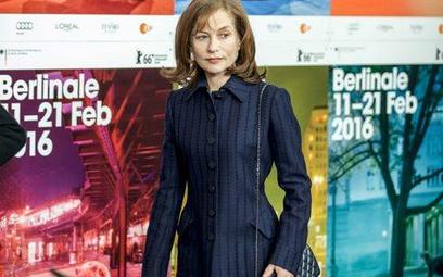 """Isabelle Huppert w pokazanym w Berlinie filmie """"Przyszłość"""" wcieliła sie w postać Nathalie"""