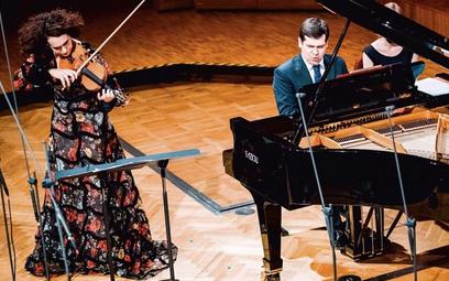 Alena Baeva i Vadym Kholodenko zagrali m.in. utwory Bacewicz i Lutosławskiego