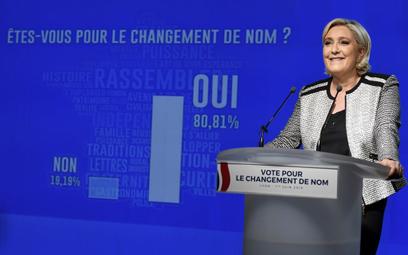 Francja: Nie ma już Frontu Narodowego. Jest Zjednoczenie Narodowe