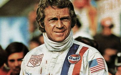 """Steve McQueen w filmie """"Le Mans"""" z roku 1971"""