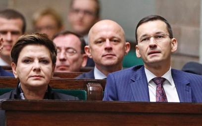 Za posunięcia gospodarcze rządu Beaty Szydło odpowiedzialność wziął Mateusz Morawiecki