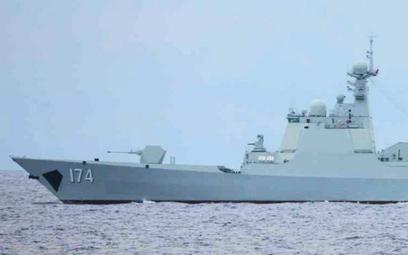 Chiński niszczyciel typu 052D