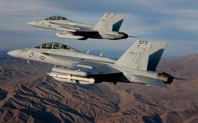 Samoloty przełamania obrony powietrznej Boeing E/A-18G Growler. Fot./Boeing.
