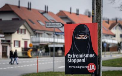 Szwajcaria zakazuje noszenia burek i nikabów