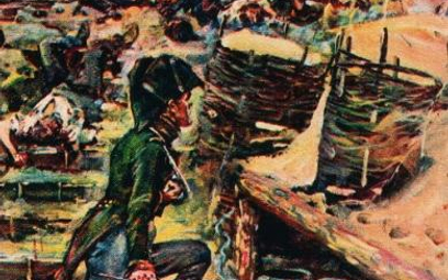 """Reduta Ordona"" – obraz Jerzego Kossaka z1931 r."