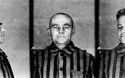 Zdjęcie więźnia KL Auschwitz z numerem 4859. Pod nazwiskiem Serafińskiego ukrył się Pilecki. Gdy boh
