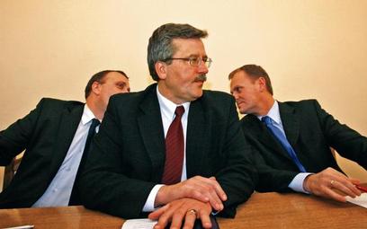 Rywalizacja Tuska, Schetyny i Komorowskiego przed wyborami