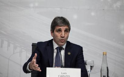 Luis Caputo zrezygnował ze stanowiska