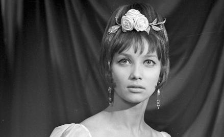 """Jako Helena w """"Popiołach"""" Andrzeja Wajdy, 1965 r. (od lewej)"""