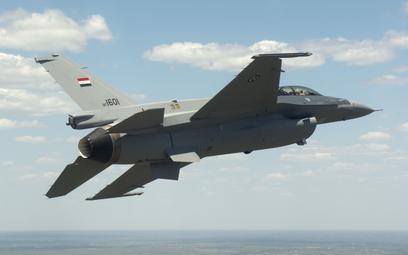 Samolot wielozadaniowy F-16C IQ Block 52 lotnictwa Iraku. Fot./Lockheed Martin.
