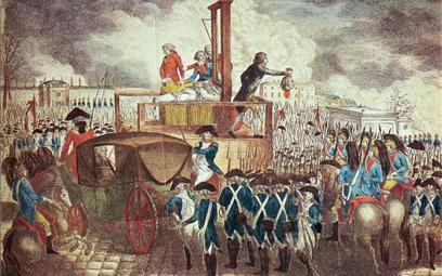 Egzekucja króla Ludwika XVI odbyła się 21 stycznia 1793 r. na placu Rewolucji w Paryżu