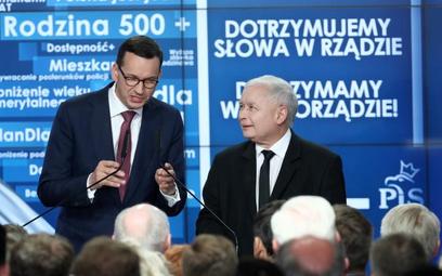 Prezes PiS Jarosław Kaczyński omawiał w środę wynik wyborów