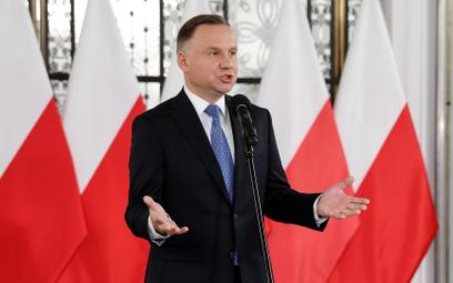Prezydent Andrzej Duda broni swojego pomysłu zmian w Sądzie Najwyższym