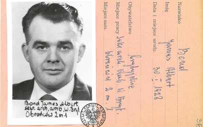 James Bond zarejestrowany jako agent przez służby PRL