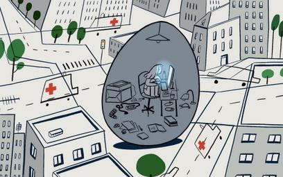 Izolacja w kurzym jaju