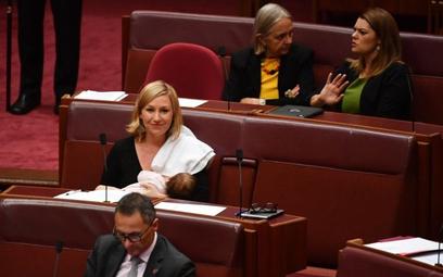 Australia: Pierwsze karmienie piersią w parlamencie