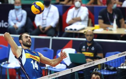 Gianluca Galassi podczas finału Włochy-Słowenia