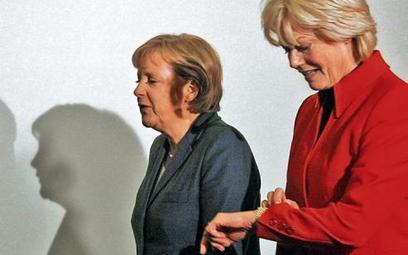 Kanclerz Angela Merkel i Erika Steinbach