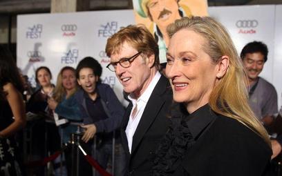 "Gwiazdy ""Ukrytej strategii"": Robert Redford i Meryl Streep"
