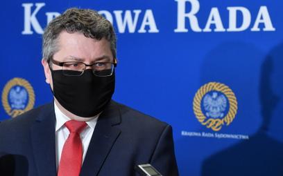 Zastępca rzecznika prasowego Krajowej Rady Sądownictwa, sędzia Jarosław Dudzicz