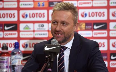 Konferencja prasowa trenera kadry przed meczem Polska - Portugalia