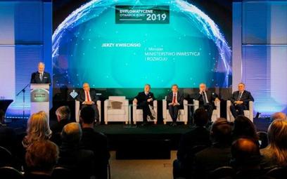 Dyplomatyczne otwarcie roku 2019 zorganizowane przez Krajową Izbę Gospodarczą odbyło się w Centrum O