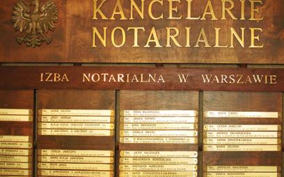 Zakaz otwierania nowych kancelarii - trwa spór notariuszy z UOKiK
